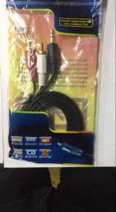 Esta tienda de porvenires siempre ha sido un área para comprar 【Cable Coaxial A Rca Audio】
